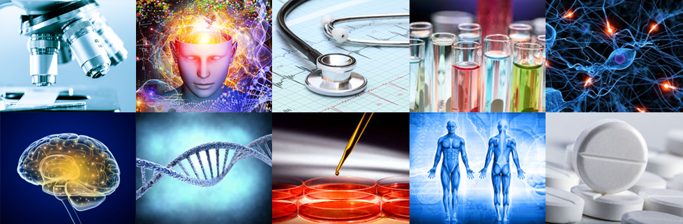 Life Sciences Image Collage